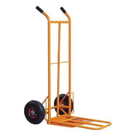 Ръчна количка 250 кг с двойна платформа