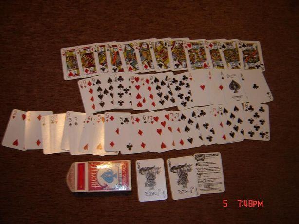 carti de joc mini USA originale