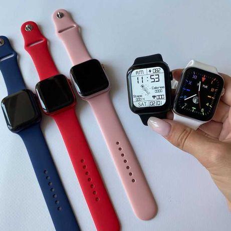НОВЫЕ! Смарт Часы Аналог Apple Watch 6 серии M16+/HW22+/M26+ Подарок