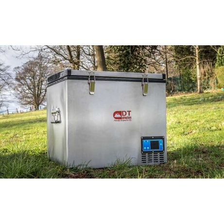 Frigider auto portabil DT Adventure de 60L frigider-congelator INOX