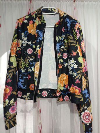 Hanorac floral toamna