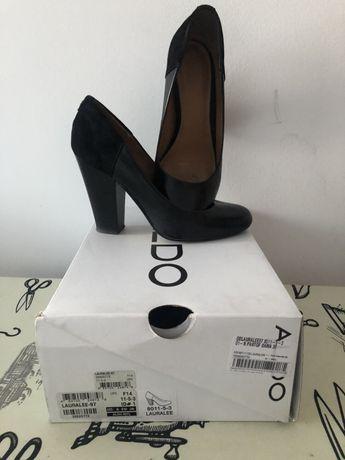 Pantofi Aldo, combinație piele cu piele intoarsa