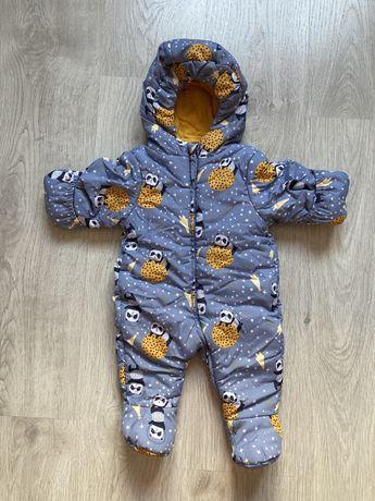 Зимний детский комбинезон Baby Go, 62 см