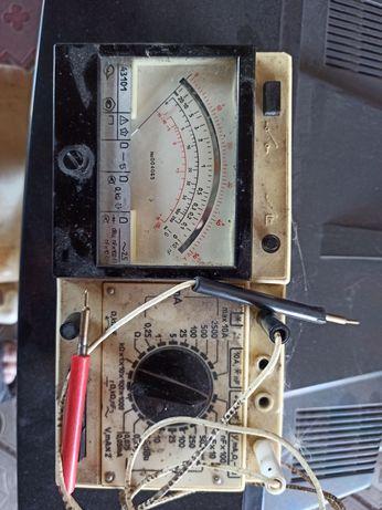 стрелочный комбинированный аналоговый прибор тестер-мультиметр Ц43101