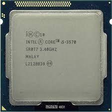 Процессор intel core i5 3570 Есть количествО
