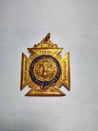 Медал/знак Орден на Бизоните RAOB поименен