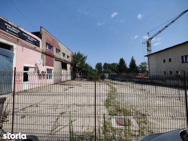 Strada Depozitelor: teren 200 mp + birou 75 mp de inchiriat