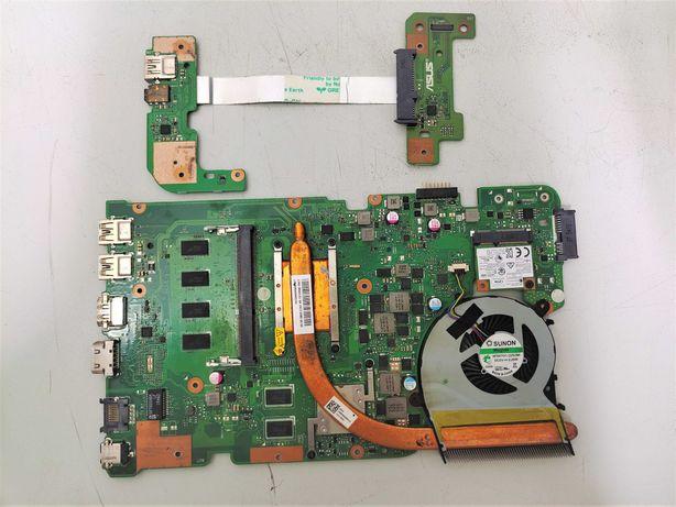 Материнская плата от ноутбука ASUS X555/X554 + процессор AMD A10 8700P