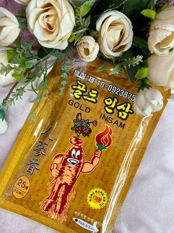 Акция на обезболивающие корейские пластыри с красным женьшенем