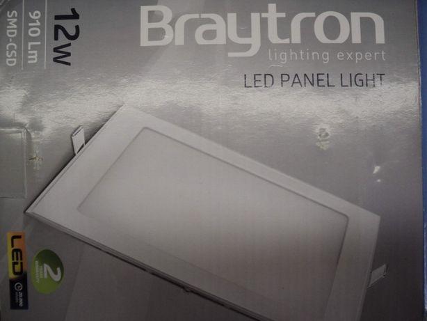 Panou (Aplica) LED Patrata Incastrabila 12W Lumina Alba 4200K, 17 cm