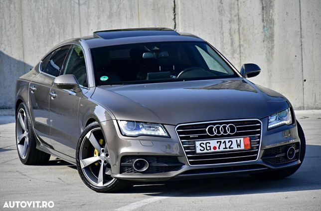 Audi A7 S.Line PLUS Trapă Distronic + Softclose 4x4 Keyless Entry/GO FULL LED