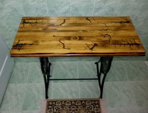 Masa lemn masiv - rustic