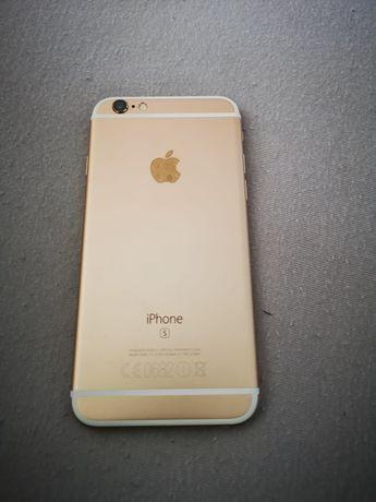 Carcasa iPhone 6S gold originală ca nouă