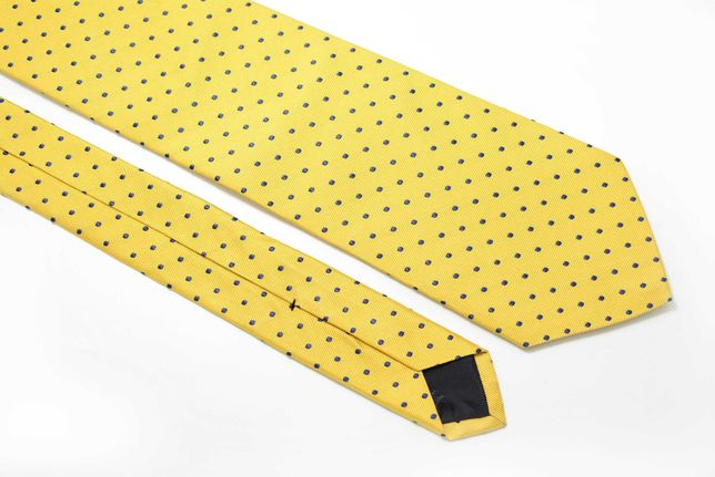 Cravata Barbati Brooks Brothers 8.5 x 145 cm Galbena Buline CRR3