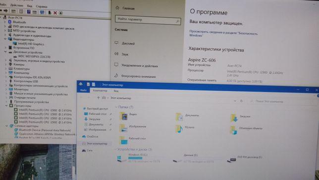 Моноблок Acer Aspire ZC-606