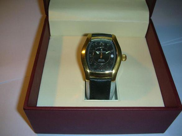 Продавам оригинален швейцарски часовник Жан Руле, стомана.