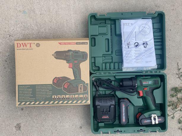 Новый шуруповерт от DWT ABS-18 L-2 BMC 18 v 1.5 Ah гарантия качества