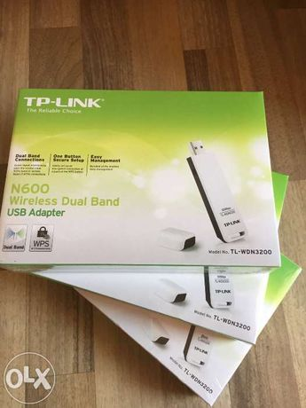 Adaptor Wireless TP-LINK Dual Band N600 Model:TL-WDN3200 -noi sigilate