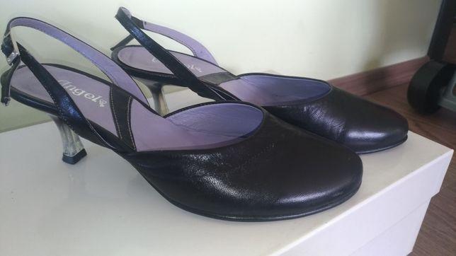 Pantofi decupați piele 37