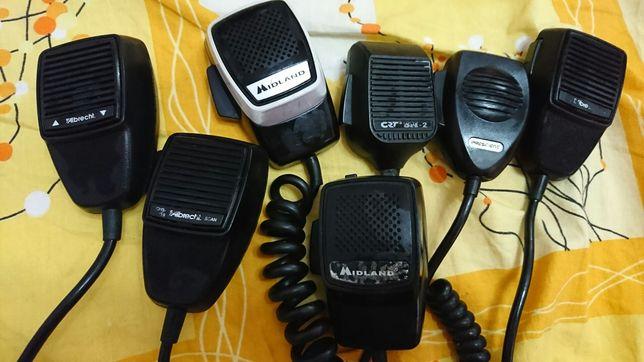 Microfon statie CB : midland / president / albrecht / crt / emtek