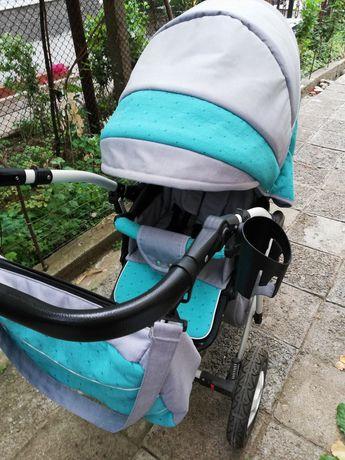 2 в 1 Бебешка / Детска количка Dizain baby Estel
