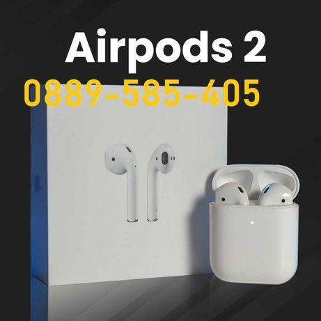 *Слушалки за iPhone Airpods 2 Wireless Charging безжични Pro*