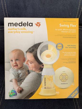 Продам электрический молокоотсос Medela swing flex