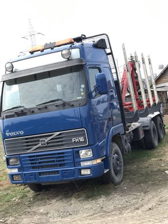 Camion forestier Volvo FH 16 6x4 ,an 2000,520cp.