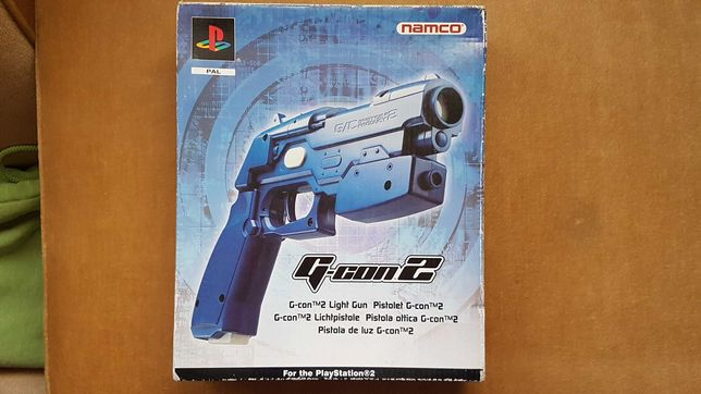 pistol consola sonyplaystation ps2 namco g-con2