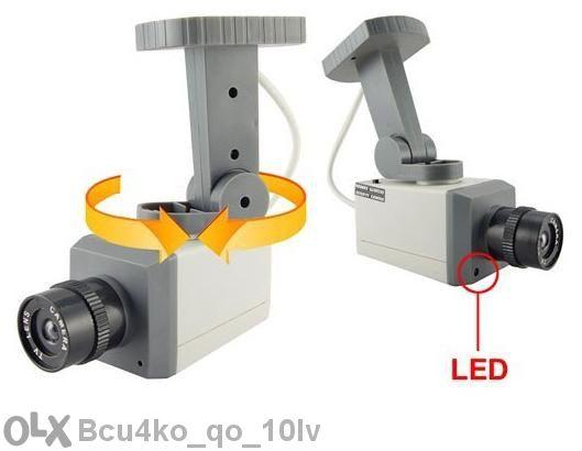 Лед Фалшива камера със сензор за движение