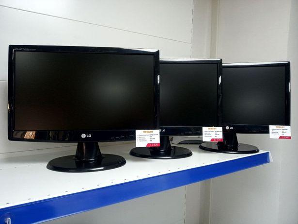 Супер Акция Мониторы 19 дюймов LG, Benq, Acer Магазин MEGABIT 11мкр!