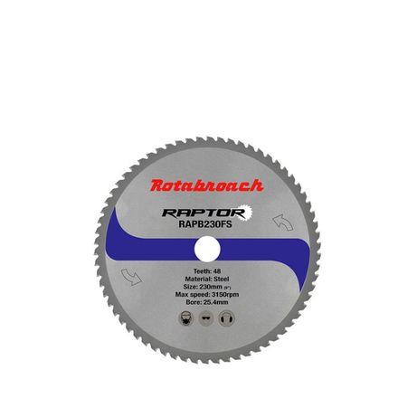 Циркулярни метални дискове с твърдосплавни зъби Raptor от Rotabroach