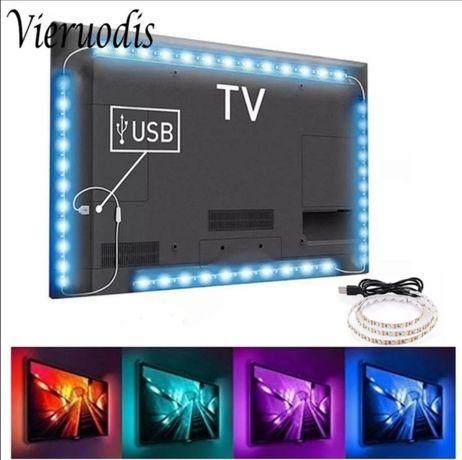 Banda LED cu luminite pentru TV