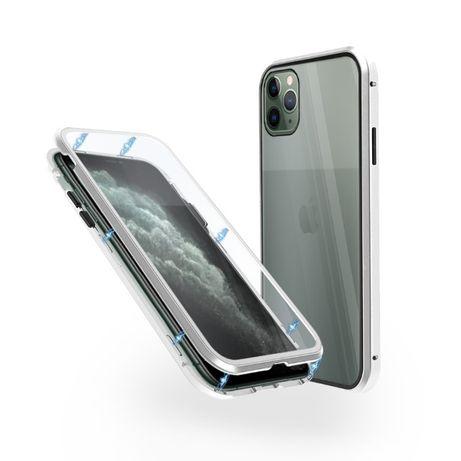 360° Магнитен кейс за iPhone 11/Pro/Max/12/Mini/X/XS/XR/7/8/Plus/SE