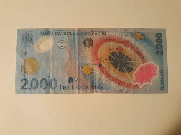 Bancnota eclipsa 2000 lei
