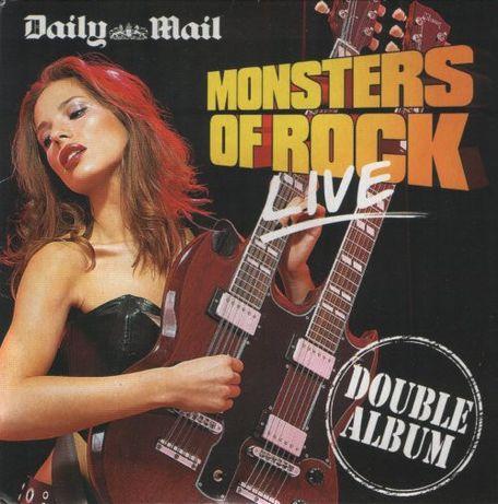 Dublu CD original Various – Monsters Of Rock Live
