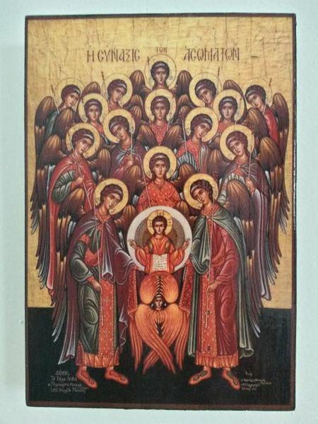 Икона Събор на Ангели icona Sabor na Angeli гр. Пловдив - image 1