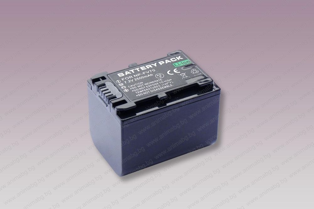 ANIMABG Батерия модел NP-FV70 за цифрови фотоапарати и видеокамери на