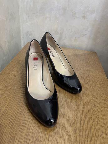 Туфли Hogl классические, кожаные