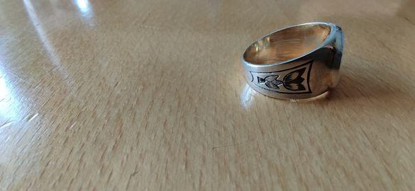 Руски сребърен пръстен
