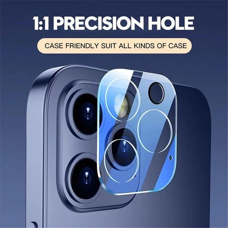 Стъклен протектор за камера за iPhone 12 / 12 Pro Max / Mini / 11 Pro