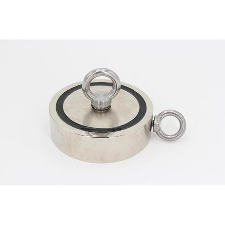 Magnet fishing 2x200 kg Forta, Puternic doua fete din neodim D75 mm,
