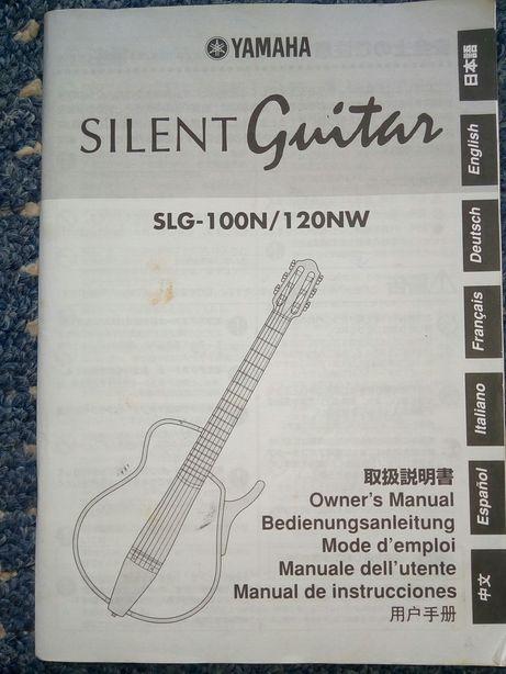 Yamaha silent guitar manual