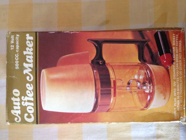 автоматическая кофеварка для автомобиля