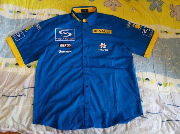 Camasa Renault F1 Originala XL