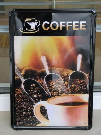 Метални табели на тема кафе, ресторант бързо хранене