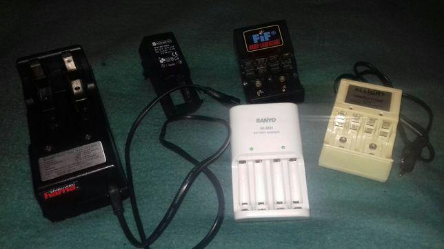 Încărcătoare baterii reîncărcabile NiMh de 9V,1,5V - LR03,Lr06 si LR20