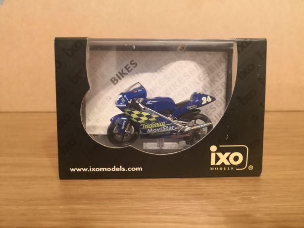 Macheta IXO RAB022 MotoGP Honda RS125 T.Elias 2001 1/24