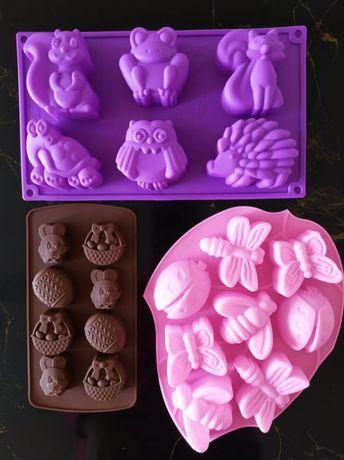 Силиконови форми за кексчета,мъфини и бонбони/Молд за сапун и крафт