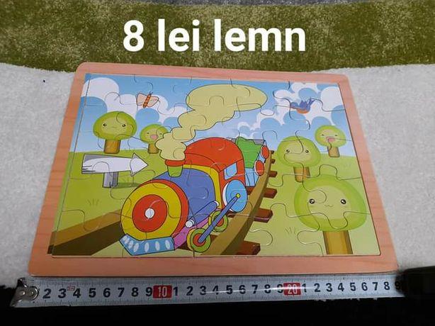 Jucarii jocuri puzzle lemn Dora, Mr. Potato, domnul Cartof Toys Story,